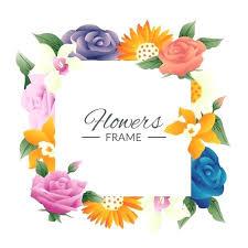 frame design vector. Exellent Design Design Frame Floral Free Vector Outlet And