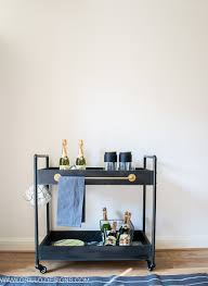 how to style a rolling bar cart grillo designs