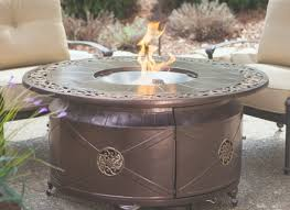round propane fire pit table lenassweethome furniture ideas