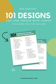 Blog Post List Design Heres A Free Printable And List Of 101 Tips And Ideas On How