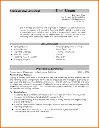 experience administrative experience resume printable administrative experience resume