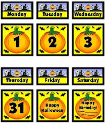 Calendar Numbers For Pocket Chart Free Printable Classroom Calendars For School Teachers