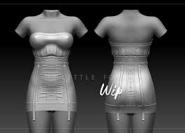Second Life Design Clothes Lucie Masatova Clothing Practice Dress For Virtual World