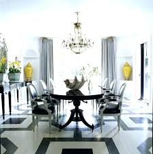 rectangular chandelier dining room rectangle crystal over table with flower centerpiece in pendant lighting chandeli