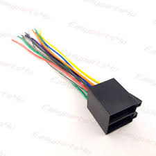 universal iso car radio adapter female socket car stereo wire Car Stereo Color Wiring Diagram image is loading universal iso car radio adapter female socket car