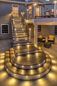 outdoor deck lighting ideas. Outdoor Deck Lighting Ideas Pictures Lovely 98 Best Stair Images On Pinterest U