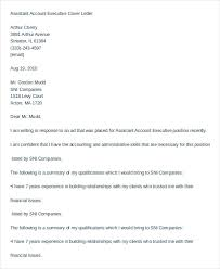 Example Of Executive Cover Letters Executive Assistant Cover Letter 11 Free Word Documents Download