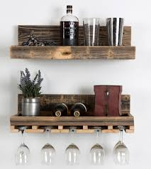 cabinet floating wine rack shelves wood shelf glass walls best racks with ideas