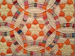 158 best Double Wedding Ring Quilts images on Pinterest   Wedding ... & Click Through to the blog post for a slide show of vintage 1920-1940s quilts Adamdwight.com