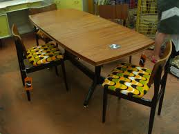 Round Formica Kitchen Table Vintage Formica Table For Kitchen And Dining Room Table Design Ideas