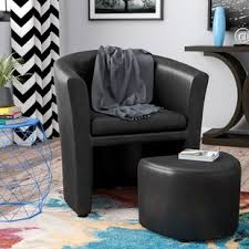 oversized chair and ottoman sets. Cordie Barrel Chair And Ottoman Oversized Sets