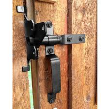 standard latch kit gate hardware by ozco ornamental wood ties