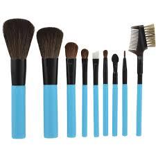 shany cosmetics essential tools studio makeup brush set 11 pc seya deluxe pro black 23 piece
