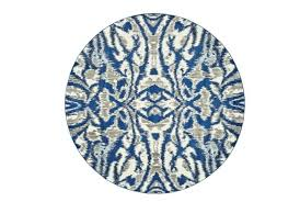 round rug blue inch round rug royal blue kaleidoscope damask blue grey rug runner