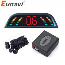 Eunavi <b>Car Auto Parktronic LED</b> Parking Sensor With 4 Sensors ...