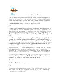 Awesome Collection Of Cover Letter For Charity Fundraising Examples