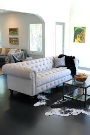 white tufted sofa. White Tufted Sofa Bed Living Room Eclectic With None . Leather