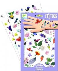 Dětské Sada Tetování Djeco Něžné Motivy Skibi Kids