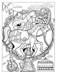 carnival coloring sheets for preschoolers pages preschool circus page s daycare carnival coloring sheets for preschoolers