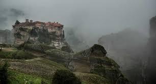 Foggy Day, Meteora, Greece - Travel Past 50
