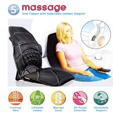 massage chair topper. 5 powerful massagers, seat topper with lumbar support massage chair