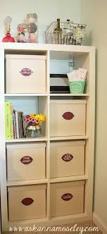 Craft office ideas Design Ideas Ask Anna Office Craft Room Reveal With Lots Of Craft Room Organization