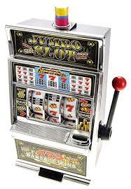 Vending Machine Piggy Bank Gorgeous Amazon PowerTRC Lucky Sevens Jumbo Slot Machine Replica Piggy