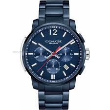 """men s coach bleecker chronograph watch 14602012 watch shop comâ""""¢ mens coach bleecker chronograph watch 14602012"""