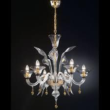 chandelier bucintoro in genuine murano blown glass