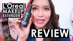 l oreal infallible makeup extender review makeup setting spray saytioco