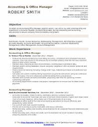 Accounting Firm Resumes Accounting Office Manager Resume Samples Qwikresume