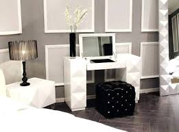 Image Of Fanciful White Bedroom Vanity Table Canada With Drawers ...