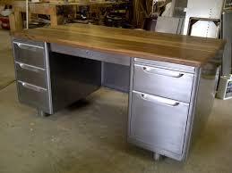 refinished vintage tanker desk love