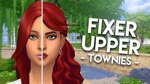 FIXING KATRINA CALIENTE // The Sims 4: Townie Makeovers - YouTube