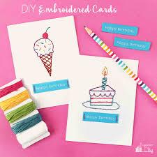 Diy Kids Birthday Card Get Inspiration From 25 Of The Best Diy Birthday Cards