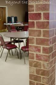 Beyond The Brick Designs How To Paint Walls To Look Like Brick Sonya Hamilton Designs