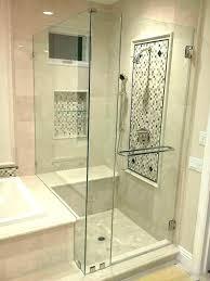 frameless shower door bottom seal sweep steigner sunny fit 3 8 bathrooms astonishi glass shower door bottom seal
