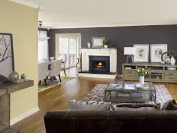 Painting Living Room Gray Gray Living Room Paint Classic Frame Wall Mirror Wood Flooring