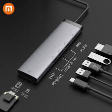 Xiaomi <b>Miiiw 7</b> In <b>1 USB</b>-C Hub Docking Station Adapter With HD ...