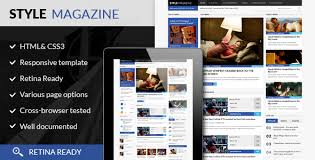 Style Magazine Responsive Html5 Website Template