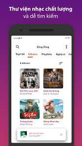 Zing Zing - MP3 Nghe Nhạc Của Tui Miễn Phí cho Android - Tải về APK