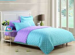 cute purple bedding to place your break beautiful girls polka