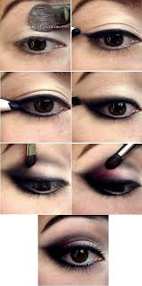 asian eye makeup with asian smokey eye