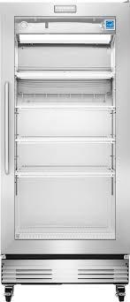 frigidaire commercial 18 4 cu ft glass door merchandiser stainless steel fcgm181rqb