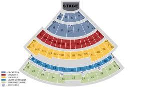 Nikon Seating Chart Experienced Jones Beach Arena Seating Chart Jones Beach