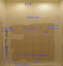 tile layout diy bathroom walls