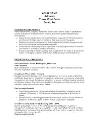 Ideas Collection Sample Resume For Banking Manager Position Examples