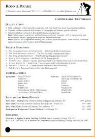 Resume Layout Example Resume Template Executive Executive Resume ...