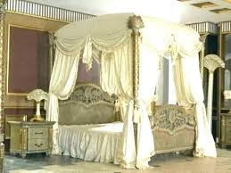 canopy beds with drapes