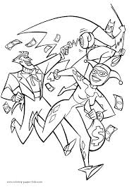 harley quinn coloring pages book for colouring jetpackjoyride